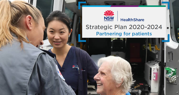 HealthShare NSW Strategic Plan 2020-2024 Partnering for patients
